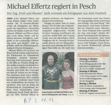 Quelle: Rheinische Post vom 02/10/13