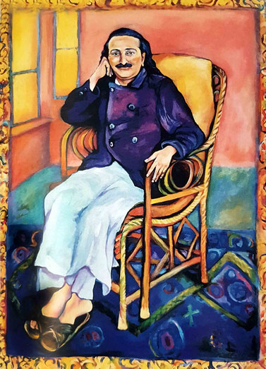 7. Meher Baba in the Italian Chair