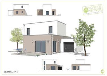 Maisons Kernest, constructeur en coopérative pour construire votre maison neuve sur un terrain en Loire-Atlantique