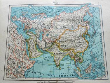 Asia en 1903