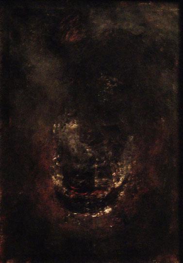Bauchgephuell, Acryl auf Leinwand, 70x50, 2015