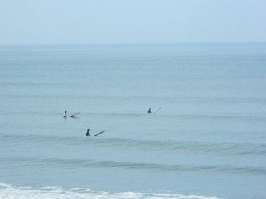 今日も波ありましたが引っ張る波でした。写真は8:15~