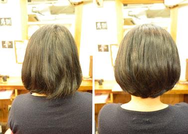 艶髪 | 枝毛処理が綺麗で艶のある髪を作る