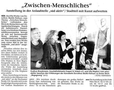 Recklinghäuser Zeitung vom 05.02.2013