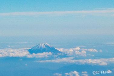 空からの富士山(山のページに移動します)
