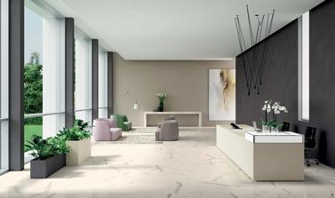 gres porcellanato ultra sottile effetto marmo Bianco Carrara