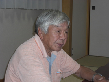 花泉中央振興商店街協同組合 理事長  伊藤 満明 さん