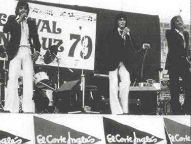 En el festival andaluz del 79 estadio Sanchez Pizjuan (Sevilla)  21 de Junio /  1979