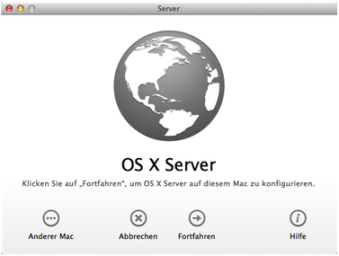jetzt kann es losgehen: der eigene Server im Unternehmen