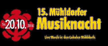 Olles Leiwand, die Austropop Band aus Freilassing bei der Mühldorfer Musiknacht