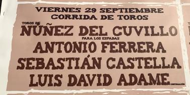 Antonio Ferrera remplacé par Paco Ureña