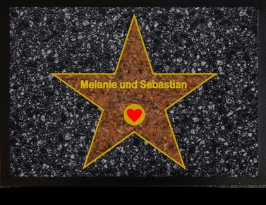 Fußmatte Walk of Fame