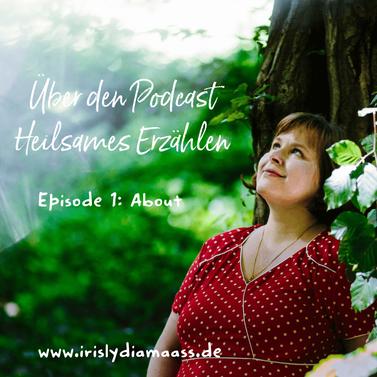 Iris Maaß gibt Märchen Podcast für Erwachsene heraus, Thema heilsames Erzählen, Storytelling,