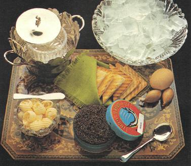 Come preparare e servire il caviale