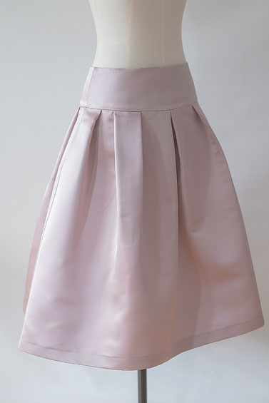 Jennifer Klein Couture Daywear Skirt Silk