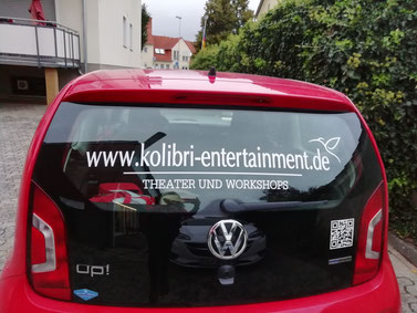 Autoaufdruck Kolibri Entertainment