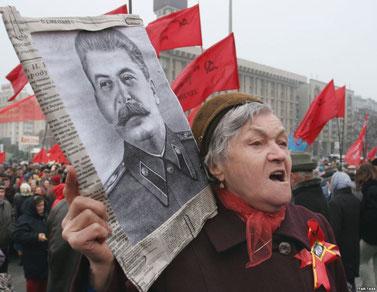 1. maj-optog af Ukraines Kommunistiske Parti i Kiev
