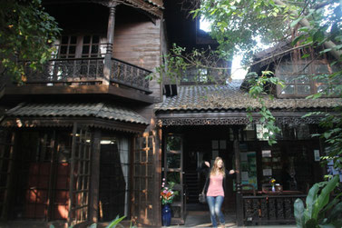 Maison traditionnelle thaï à Chiang Mai