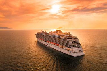 Crown Princess at sea