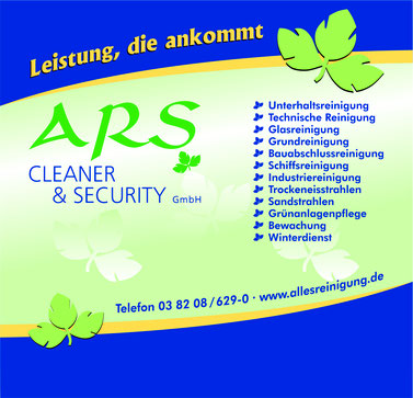 ARS Cleaner & Security GmbH - Allesreinigung Waldemar Sperber