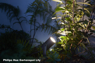 Philips Hue Gartenspot Lily - Apple HomeKit, Gartenbeleuchtung