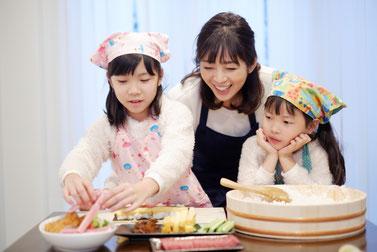 仕事と家庭の両立支援 子育てやお子さんと料理をするのが楽しくなる!