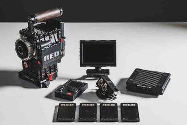 Puhlmann Cine - RED Dragon 6K Digital Camera Set