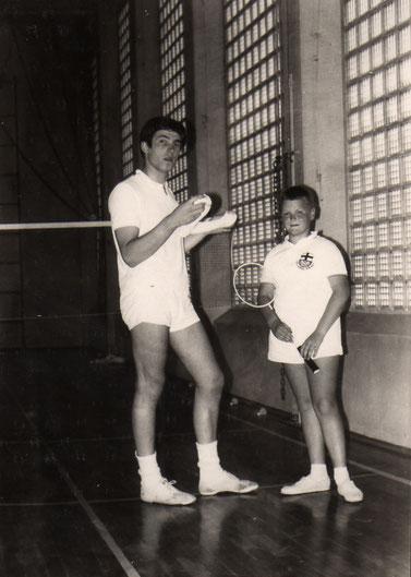 Dieter Prax als junger Trainer