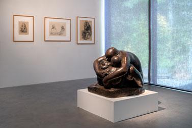 Ausstellung Käthe Kollwitz im Museum Lothar Fischer, Foto: Andreas Pauly.
