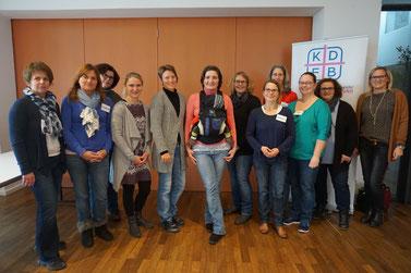 Alle Eltern-Kind-Gruppenleiterinnen schlossen die dreitägige Ausbildung erfolgreich ab. Foto: KDFB / Anita Gaffron