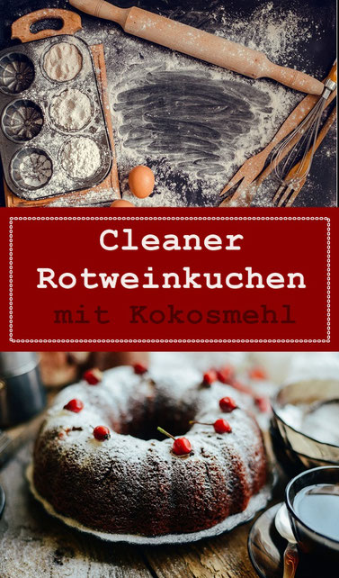 cleaneating rotweinkuchen rezept lowcarb lowfat sugarfree
