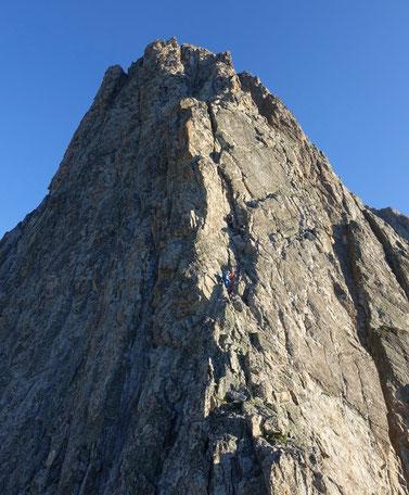 Stockhorn, Südgrat, fünf Türme, Ostgrat, Baltschieder, Baltschiedertal, Stockhornbiwak, Wallis Hochtouren, Himmelsleitern, Bergtouren, Klettern, Granit