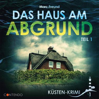 CD-Cover Küstenkrimi - Das Haus am Abgrund Teil 1