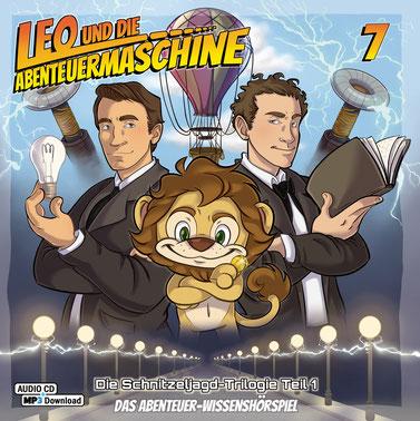 CD-Cover Leo und die Abenteuermaschine 7