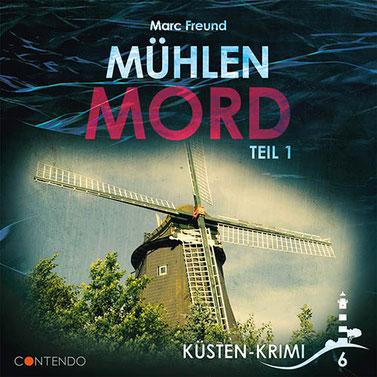 CD-Cover Küstenkrimi - Mühlenmord 1