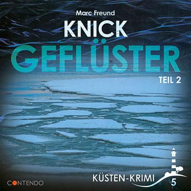 CD-Cover Küstenkrimi - Knickgeflüster Teil 2