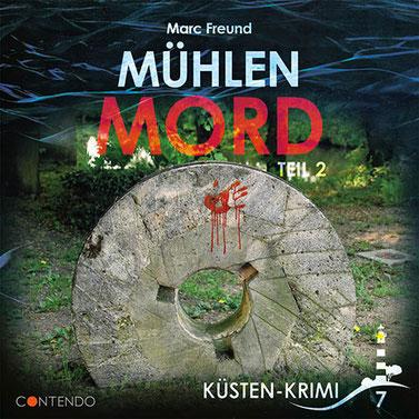CD-Cover Küstenkrimi - Mühlenmord Teil 2