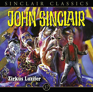 CD-Cover John Sinclair Classics - Folge 37 - Zirkus Luzifer
