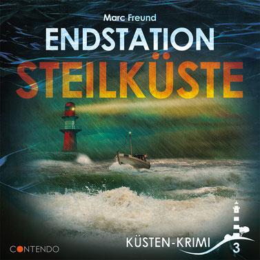 CD-Cover Küstenkrimi - Endstation Steilküste