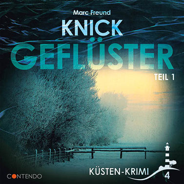 CD-Cover Küstenkrimi - Knickgeflüster Teil 1