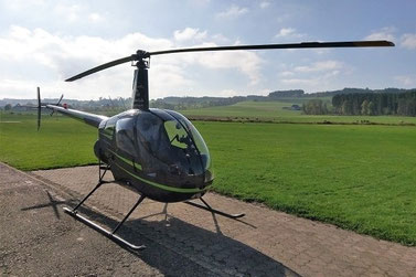 Elite Flights, Robinson R22, HB-ZNE, Tarmac Beromünster