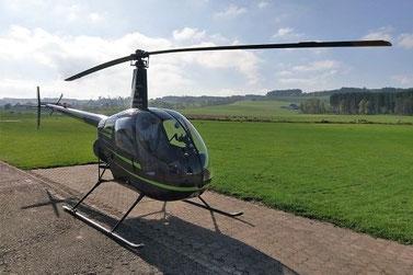 Elite Flights, Robinson R22, HB-ZNE,  Helikopter-Flotte Luzern-Beromünster, Grenchen, Basel