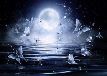 Sprirituelle Hypnose  - Bild von Larisa K. butterfly auf Pixabay