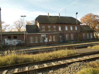 Bahnhofsgebäude Bad Düben