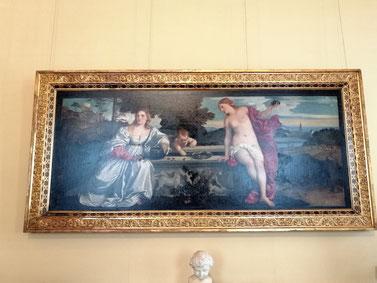 Тициан галерея Боргезе Рим