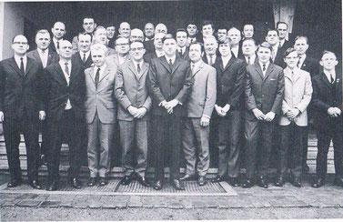 Der Mörsbacher Gesangsverein 1970 im Jubiläumsjahr