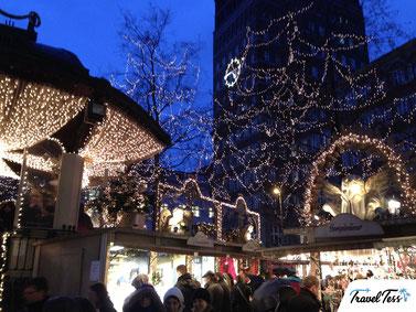 Kerstkraam Düsseldorf