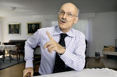 """Beat Kappeler: """"ich nehme an, dass nach Mai 2013 einige südliche Länder Europas aus der Währungsunion austreten werden"""""""