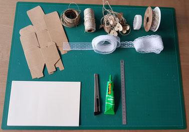 Tout le matériel dont vous avez besoin - Crédit photo : Hésione Design