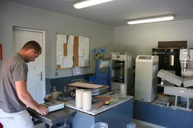 Le laboratoire de BETAG en Corse